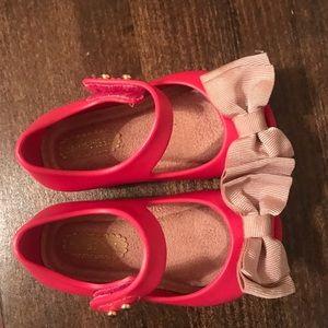 Mini Melissa Toddler Shoes sz 5